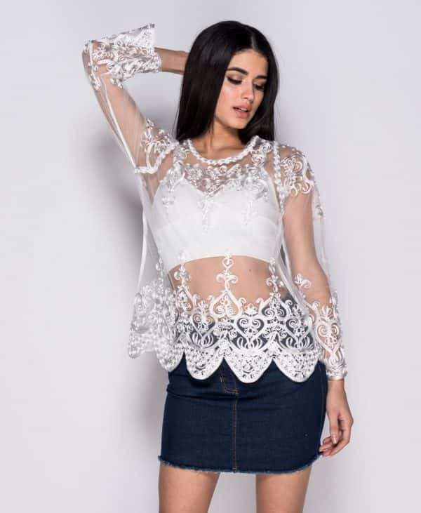 flare-sleeve-cornelli-lace-mesh-top-p2377-122724_image