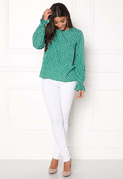 bubbleroom-elma-blouse-green-white-dotted_1