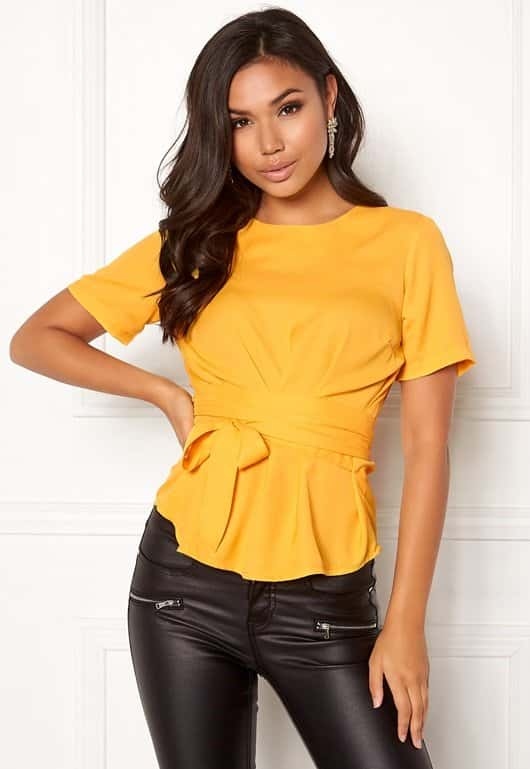 bubbleroom-maddie-tie-blouse-yellow