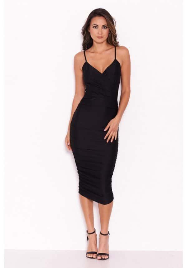 Black-Ruched-Midi-Dress-2-850×1218