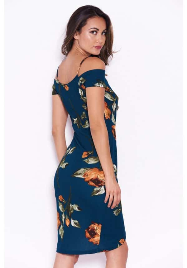 Teal-Floral-Midi-Wrap-Dress-3-850×1218