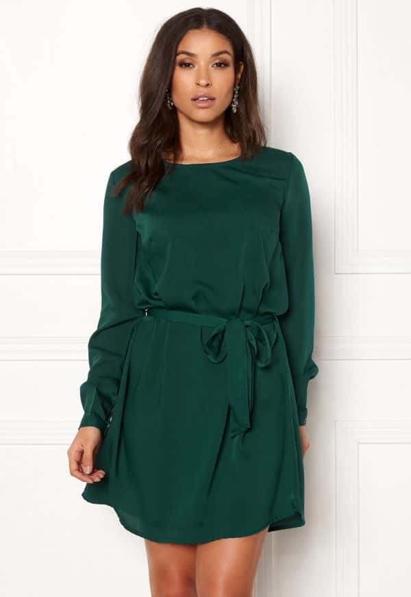 bubbleroom-hortense-dress-dark-green