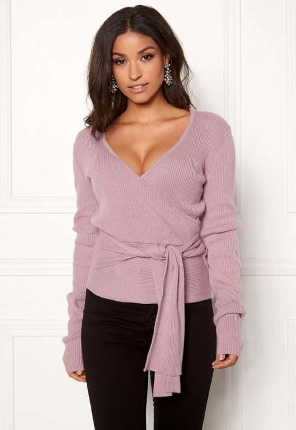 bubbleroom-ines-knitted-sweater-dusty-pink
