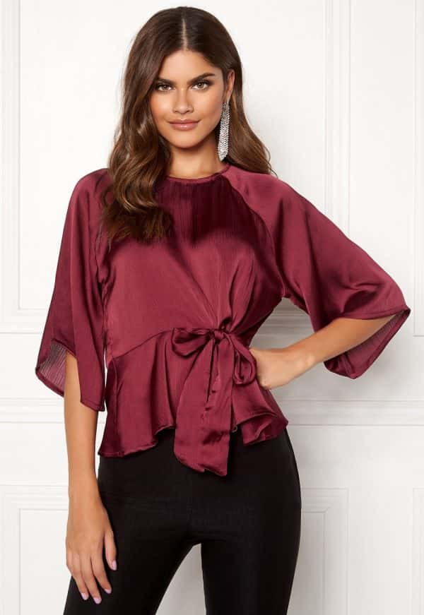 bubbleroom-tillie-tie-top-wine-red