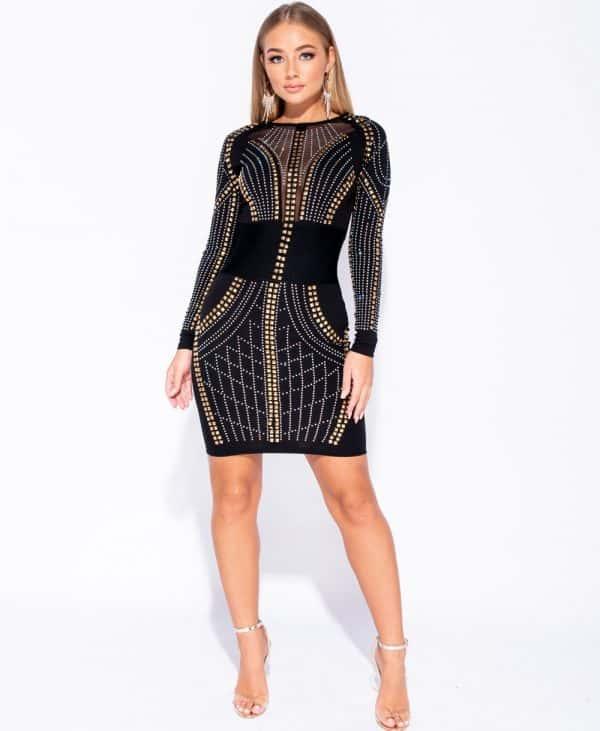 multi-stud-trim-mesh-panel-bodycon-dress-p5969-180183_image