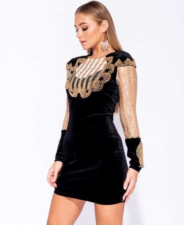 velvet-bead-trim-sheer-sleeve-bodycon-dress-p5967-180169_image (1)