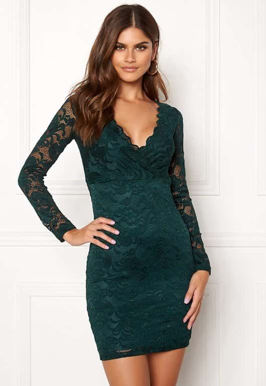 bubbleroom-martha-lace-dress-dark-green