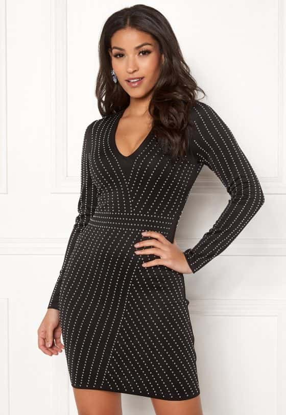 chiara-forthi-evelyn-studded-dress-blacksilver