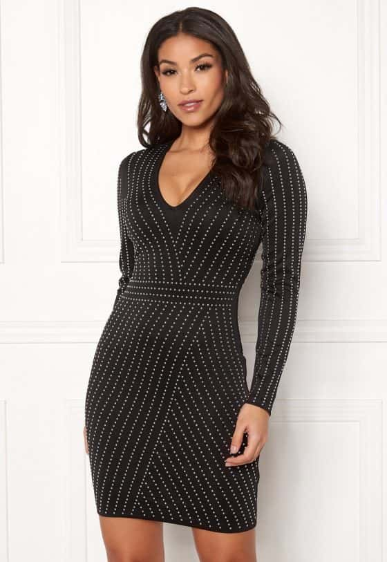 chiara-forthi-evelyn-studded-dress-blacksilver_3 (1)