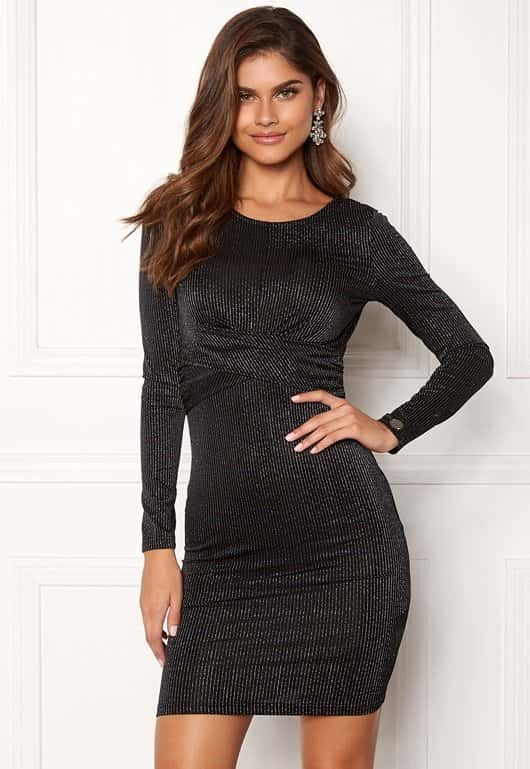 chiara-forthi-star-dress-blacksilver