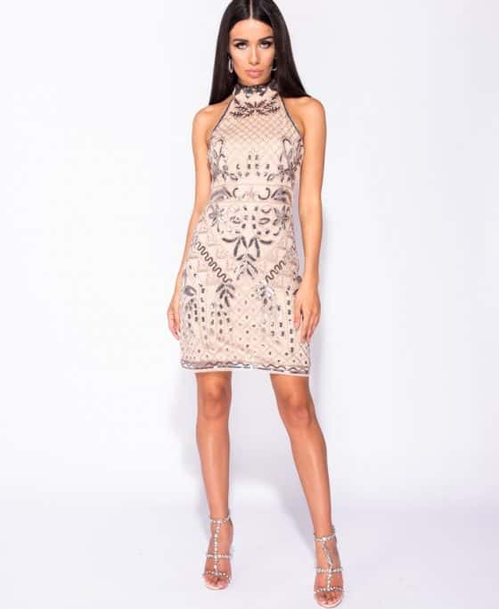 floral-pattern-sequin-front-high-neck-bodycon-dress-p5736-179637_image