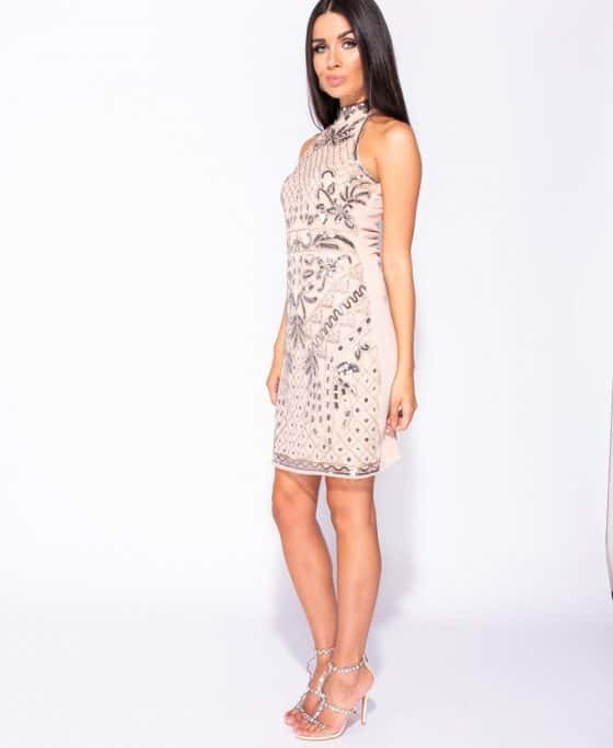 floral-pattern-sequin-front-high-neck-bodycon-dress-p5736-179644_image