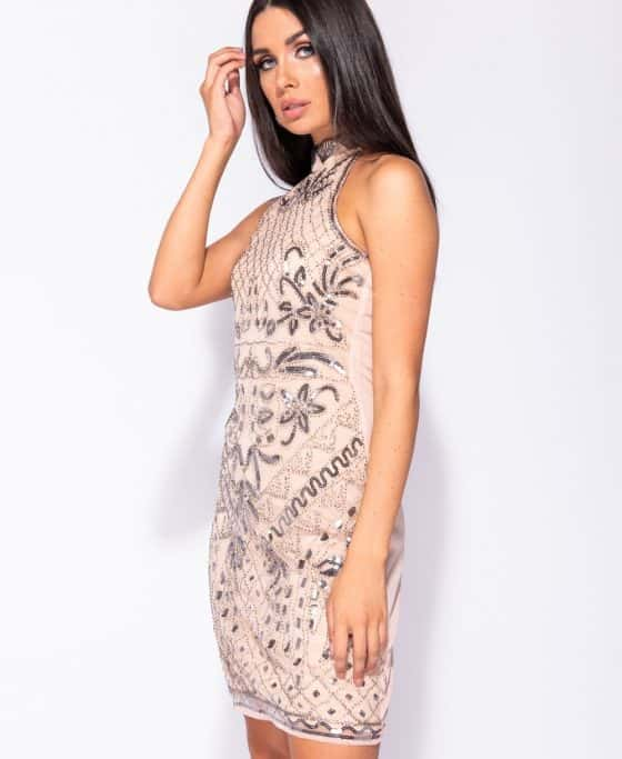 floral-pattern-sequin-front-high-neck-bodycon-dress-p5736-179651_image