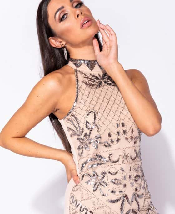 floral-pattern-sequin-front-high-neck-bodycon-dress-p5736-179665_image