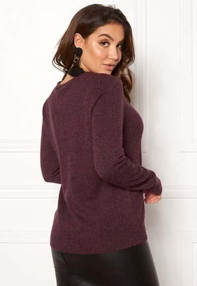 vila-ril-ls-v-neck-knit-top-winetasting_3