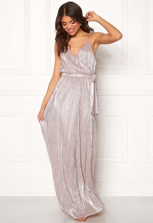 make-way-elsa-pleated-lurex-dress-pinksilver