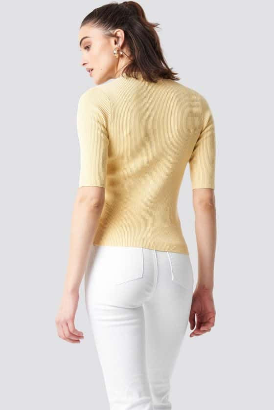nakd_ribbed_button_short_sleeve_top_yellow_1100-001632-0404_02b