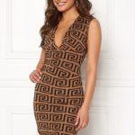 chiara-forthi-sabine-wrap-dress-beige-black-patterned