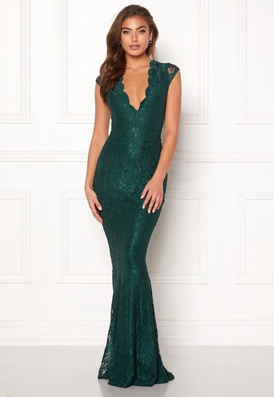 bubbleroom-valencia-lace-dress-dark-green