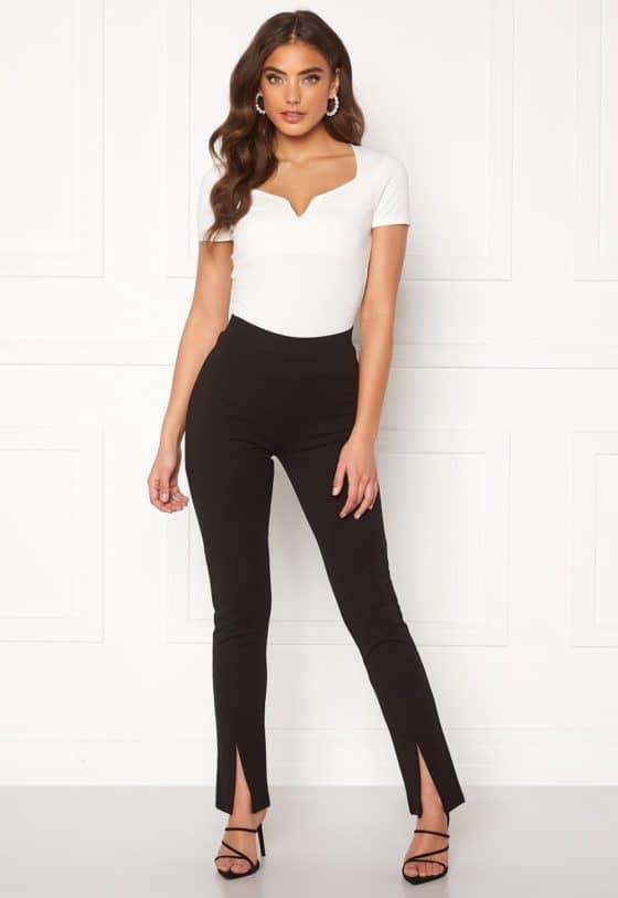 bubbleroom-bonita-slit-leggings-black