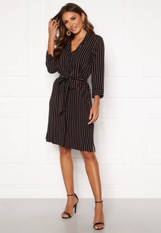 happy-holly-thea-shirt-dress-black-striped_2