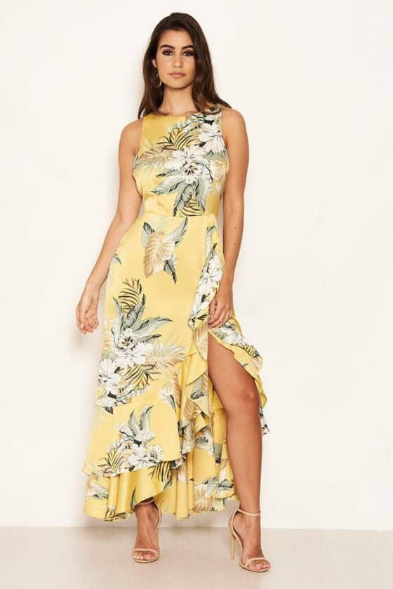 Yellow-Frilled-Floral-Midi-Dress-with-Side-Slip-3_5fab6043-5ed8-49e9-985a-22164379490f_800x