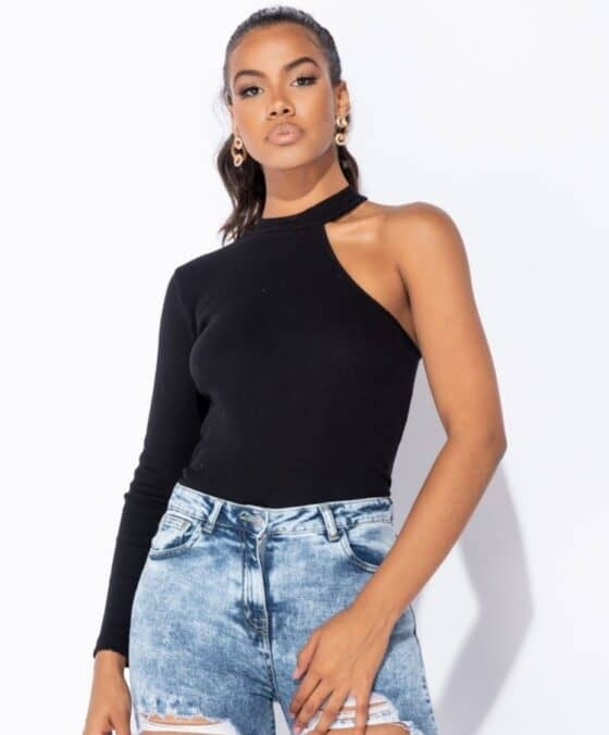 black-rib-knit-one-shoulder-turtle-neck-top-p9275-1019416_image2