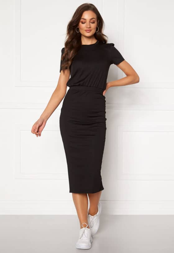 bubbleroom-besa-short-sleeve-dress-black