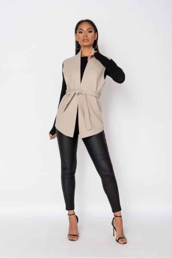 beige-wool-effect-edge-to-edge-sleeveless-belted-blazer-p9587-1096208_image