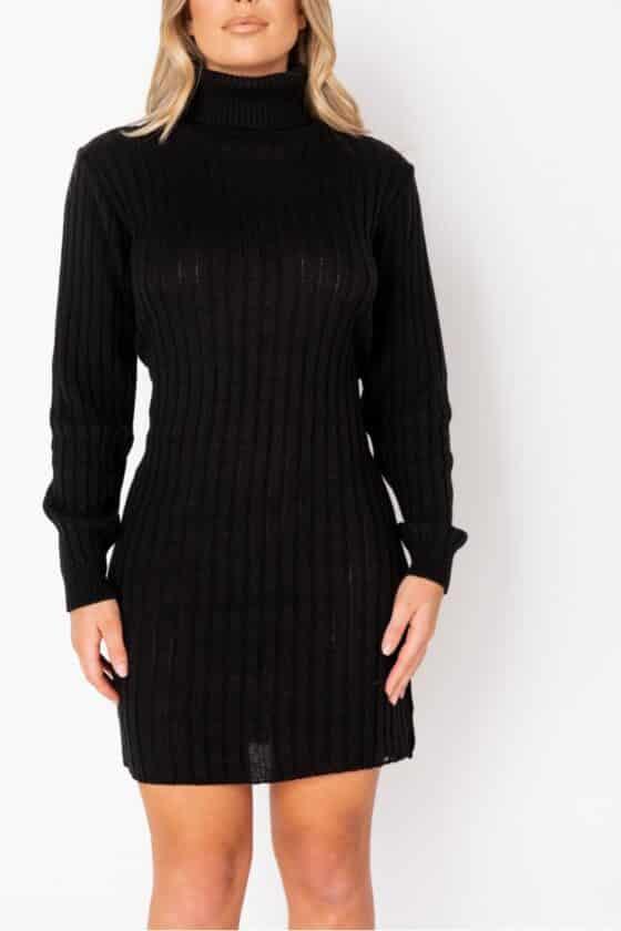 black-rib-knit-roll-neck-jumper-dress-p9611-1102452_image